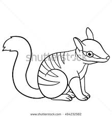 Small Picture Draw Animal Scorpion Educational Game Vector Stock Vector