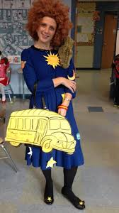 yesterday s book character day costume for my 3rd graders magic bus