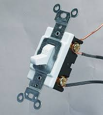 wiring a single pole switch fine homebuilding S3 Single Pole Switch Diagram you don't need to be an electrician to wire a switch and all you need are a few basic tools
