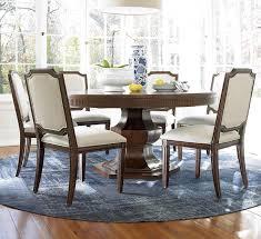 7 piece round dining room set visionexchange co with regard to