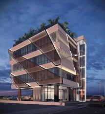 office exterior design. Amazing Small Office Exterior Design Building Street Ideas