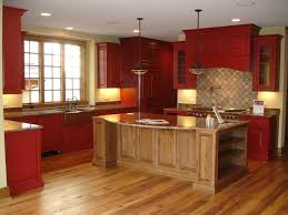 inspiring rustic red painted kitchen cabinets rustic red kitchen cabinets trendy design ideas 1 rustic red
