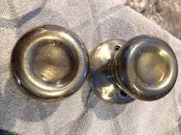 door knobs. How To Antique Shiny Brass Door Knobs