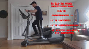 elliptical workout high intensity interval exercise for weight loss that is fast and effective you