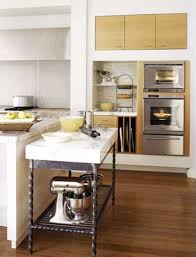 Kitchen Island Tables   Marble Topped Pastry Table Extension To Island In  Better Homes U0026 Gardens Nice Ideas