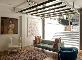 garage door living room 300x219