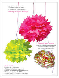 How To Make Tissue Paper Balls Decorations How to Make Tissue Paper Flowers 78