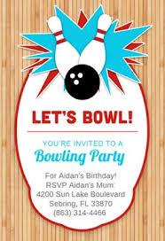 Bowling Party Invitation Bowling Party Invitation Template Free Greetings Island