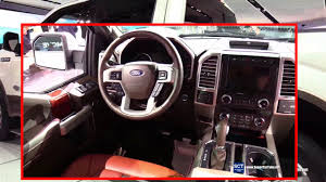 2018 ford king ranch interior. unique king 2018 ford f150 king ranch  exterior and interior walkaround debut at  2017 detroit auto show to ford king ranch interior 0