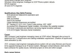 Sky Satellite Engineer Sample Resume   Cvfree.pro