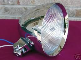 dna billet headlight parts for harley chopper old school