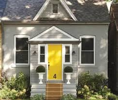 white front door yellow house. Bear In Mind That There Are Many Shades Of Yellow From Which To Choose Soft Lemony Something As Bright The Sunshine Itself! White Front Door House
