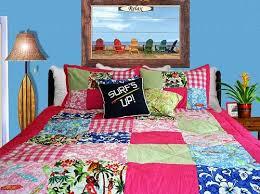 Girls Hawaiian Patchwork Comforter Set by Beach House Designer ... & This Girls Hawaiian Patchwork Comforter Set ... Adamdwight.com