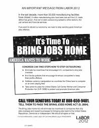 because america wants to work bring work home home