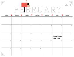 february calendar 2018 indonesia free printable calendar download
