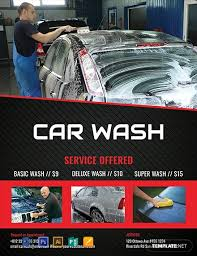 Car Dealership Flyer Templates 9 Free Car Wash Flyer Templates Word Psd Indesign