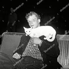 Brian Mulraney holds his cat Jennie after Editorial Stock Photo ...