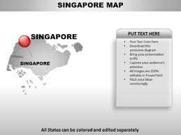 Singapore Country Powerpoint Maps Powerpoint Templates