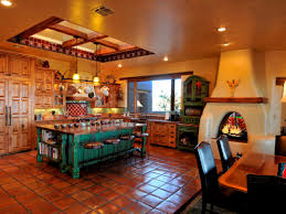 Kitchen Design Interior Decorating Mexican Southwestern Style Kitchen Design Interior Decorating With 57