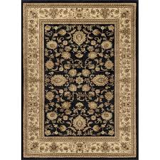8 x 10 large black and tan area rug sensation rc willey furniture