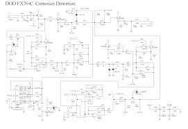 index of diy schematics distortion boost and overdrive dod fx70 c corrosion gif