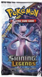 Start date today at 10:19 am. Pokemon Sealed Booster Pack 10 Cards Shining Legends Chaos Cards