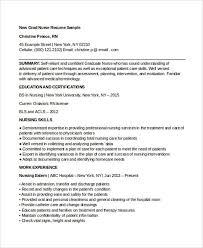 Nursing Curriculum Vitae Template