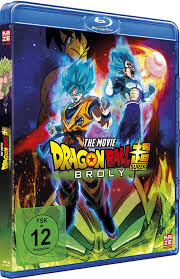 Dragonball Super Broly Blu Ray Amazonde Tommy