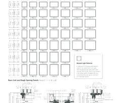 67 Veracious Jeld Wen Windows Size Chart