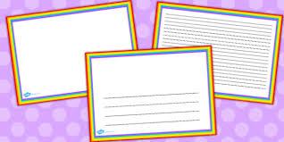 Landscape Rainbow Page Borders Rainbow Page Borders Borders