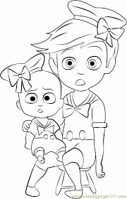The Boss Baby Coloring Pages At Getdrawingscom Free For Personal