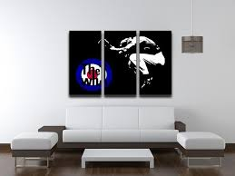 the who mod target 3 split panel canvas print canvas art rocks 3 on 3 panel wall art target with the who mod target 3 split panel canvas print canvas art rocks
