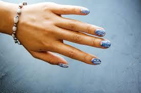 fun size beauty: Born Pretty Store Sticker Exquisite Light Blue ...