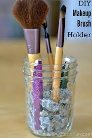 diy makeup brush holder1