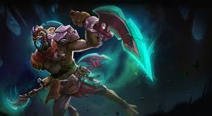 dota 2 bounty hunter the second disciple by polygoon13 on