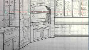 Sketchbook Pro Interior Design Interior Design Sketch With Autodesk Sketchbook Pro 6 Wacom Cintiq