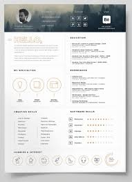 40 Free Creative Resume Templates For Job Seekers Digital Downloads