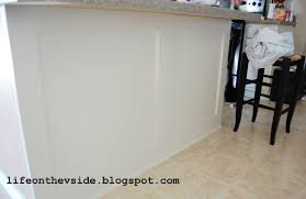 Kitchen Island Beadboard On The V Side Diy Kitchen Island Update