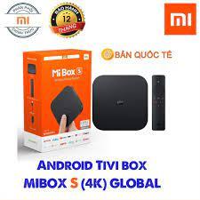 Tivi Box Xiaomi Mi box S 4K SX 2020 Bản Quốc Tế Tiếng Việt Tìm Kiếm Giọng  Nói