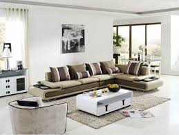 living room with affordable modern furniture and modern rug 700x526