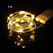 Holiday Living Gold Mini Lights Us 0 79 34 Off Led Holiday Decor Fairy Light Mini Garland Copper Wire Romantic Party Waterproof Wedding Christmas Night Battery Powered Chain In