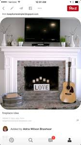 28 best Home Decor images on Pinterest | Fire places, Mantles and ...