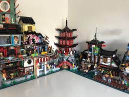 Temple of Airjitzu Modded to be modular: lego