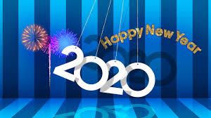 New Year 2020 4k Ultra Hd Wallpaper Hintergrund