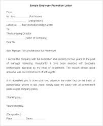 pay raise letter samples 16 promotion letter templates free samples examples format