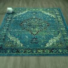 green area rug blue rugs city faded oriental medallion furniture and blue green area rug