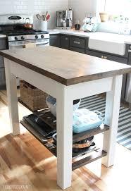 diy kitchen island cart. Make Your Own Distressed Kitchen Island Diy Cart K