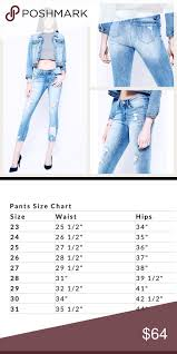 Kancan Jean Size Chart Just In Kancan Cropped Skinny Ankle Jeans Mid To Low Rise