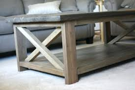 ana white rustic coffee table white rustic x coffee table projects coffee table with storage diy