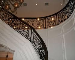 wrought iron railing. Custom Interior Railings Wrought Iron Railing